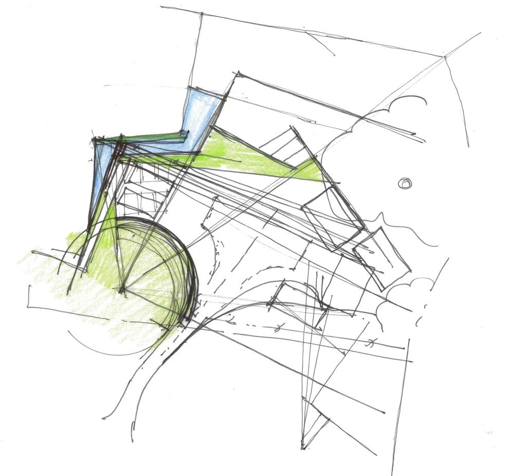 Conceptual Sketch by Vera Gates