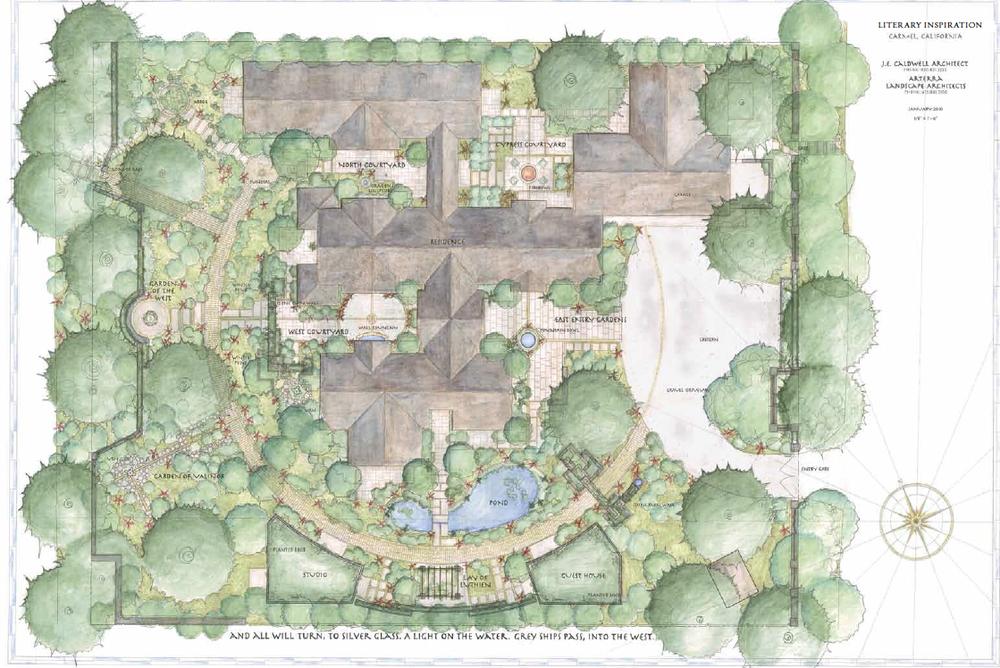 Garden Geometries The Circle Arterra Landscape Architects
