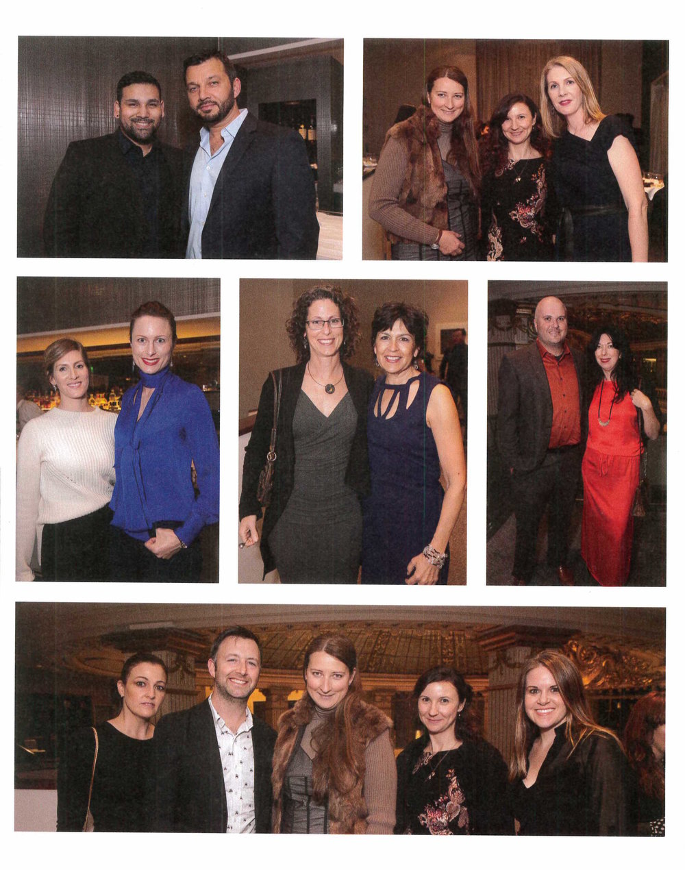 A magazine spread shows attendees of the California Home + Design Awards, including Kate Stickley, Gretchen Whittier, Vera Gates and Nicole Bemboom