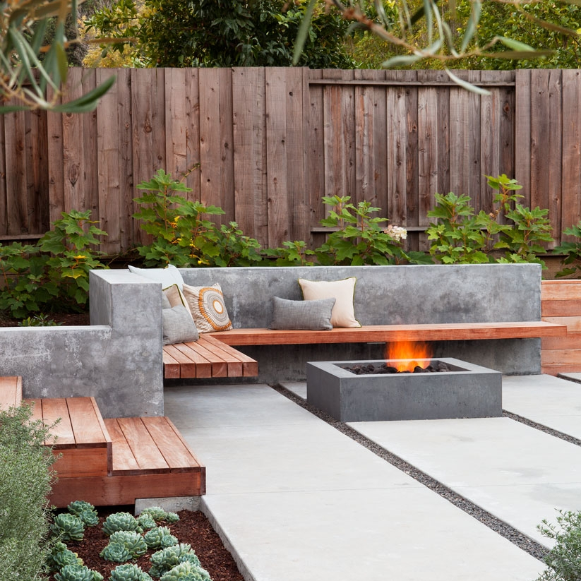 The New Outdoor Living Room - 10 Favorite Built-in Sofas for Decks and Patios
