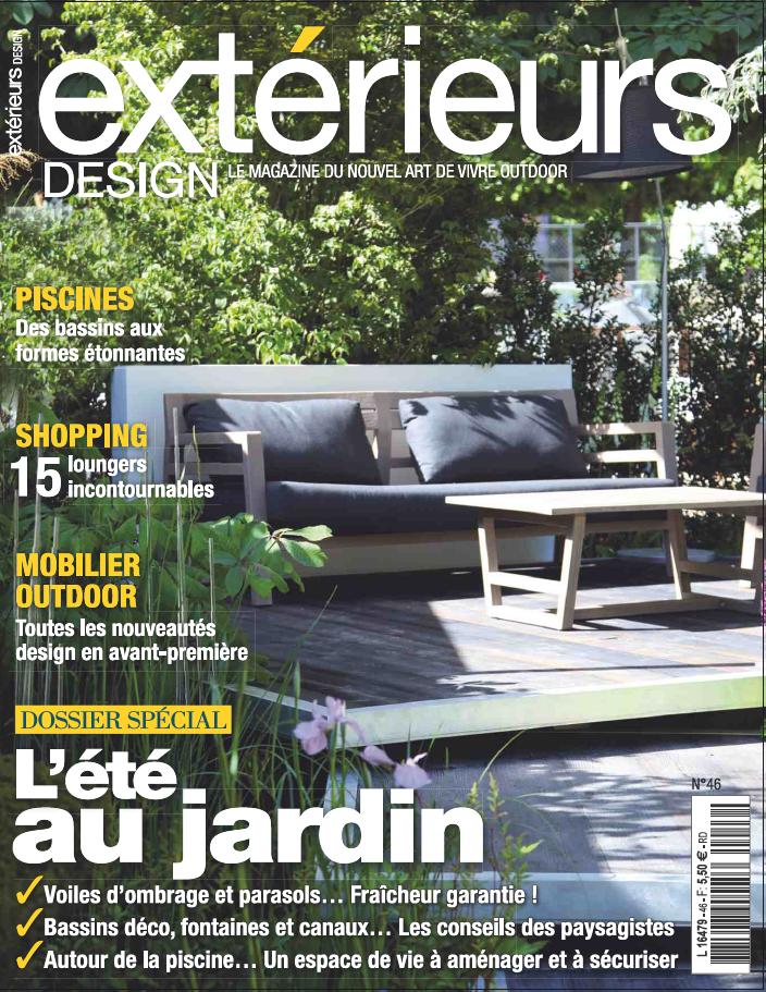 Exterieurs Magazine 2016 — Arterra Landscape Architects
