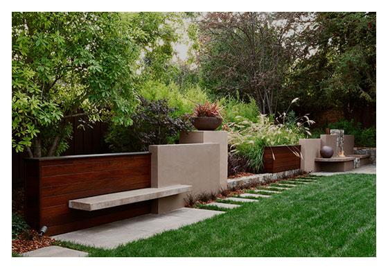 Garden As Sculpture - Los Altos HIlls, CA