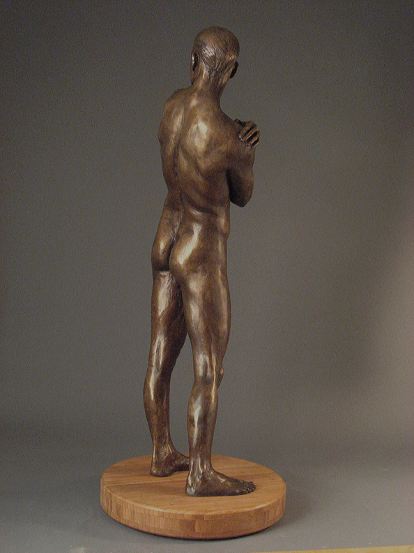 Adonis  - 31 X 12 X 8 in cast bronze