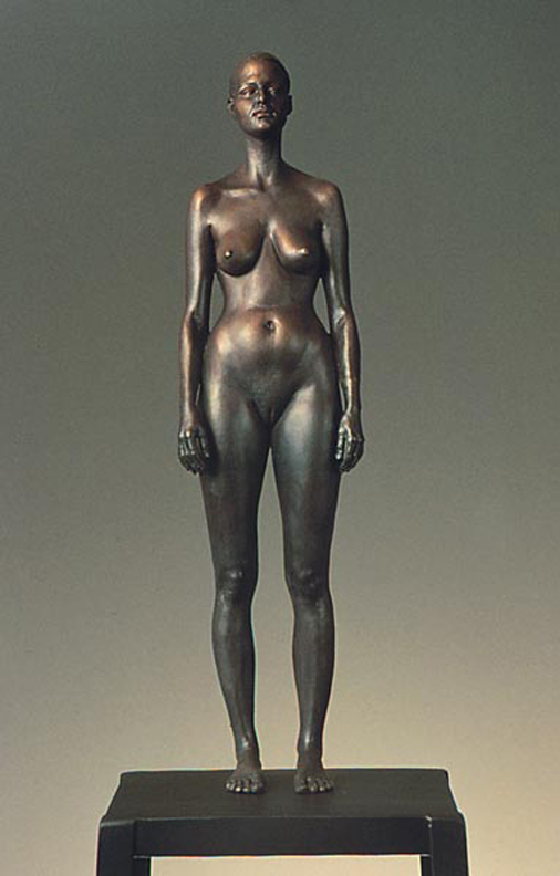 Amy  - 21 x 5 x 4 in cast bronze