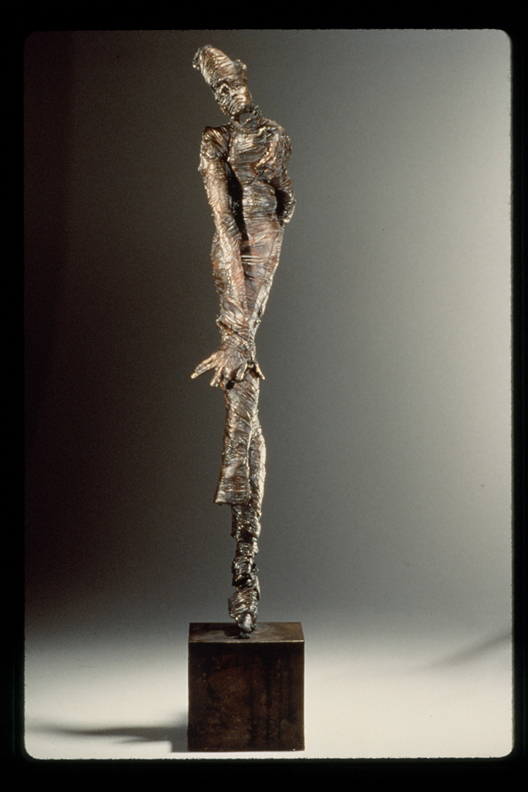 Dance of Endurance  - 31 X 12 X 8 in cast bronze