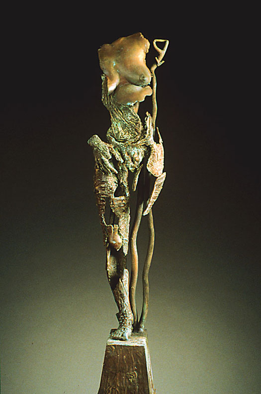 Endurance  - 32 x 8 x 6 in cast bronze