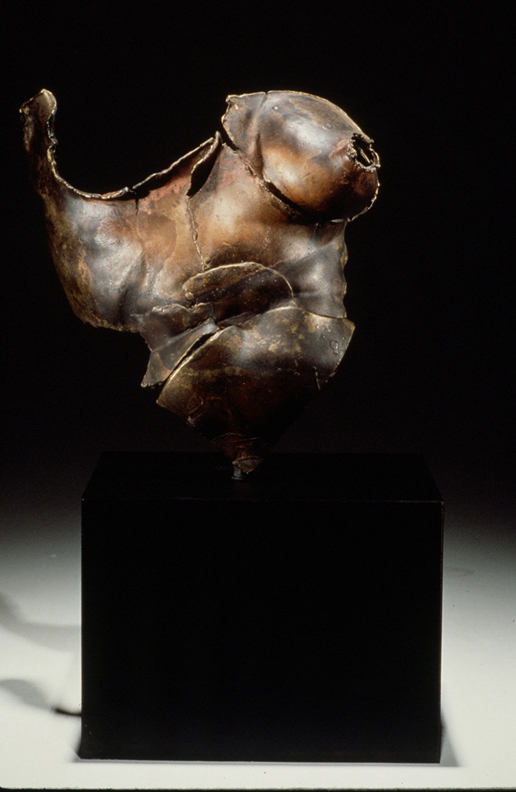 Fragment  - 15 X 12 X 9 in cast bronze