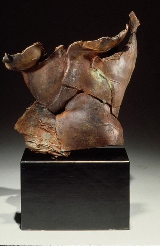 Fragment II  - 14 X 10 X 9 in cast bronze
