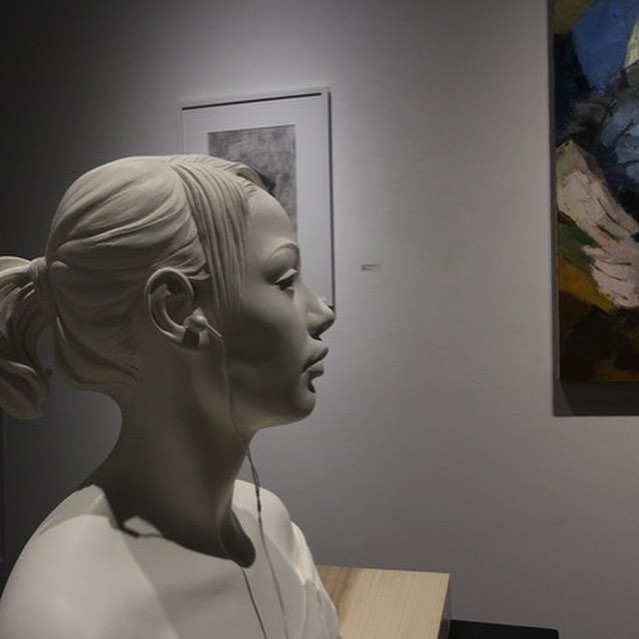 """Similitude"" at Manifest Gallery, Cincinnati Ohio comes to a closing #artexhibition #figurativeart #academicart"