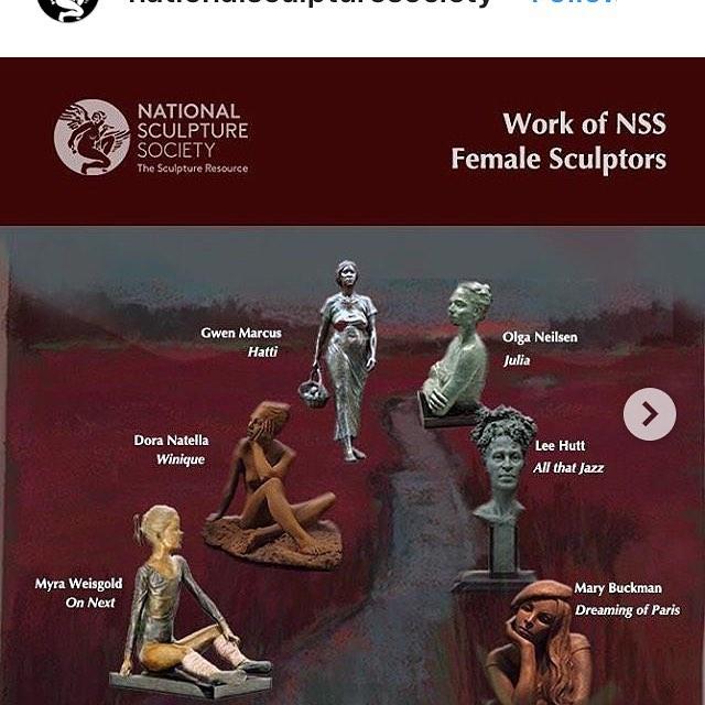 Women's day celebration! #womenempowerment  #womenartists #figurativeart  #sculpture #fineart #monumentalartwork #womenshistorymonth