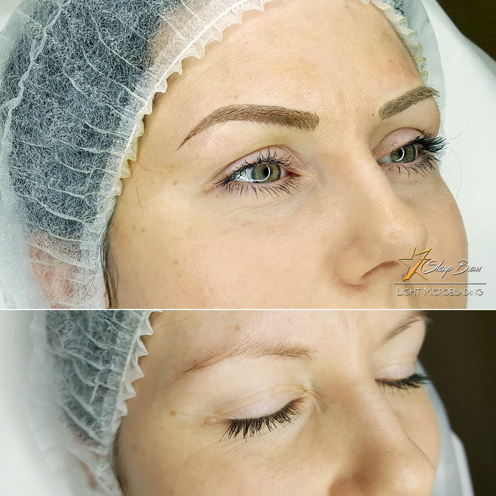 With correctly done Sharpbrows Light microblading the results will change the overall appearance of the face entirely. Quite often the client also looks and feels considerably younger.