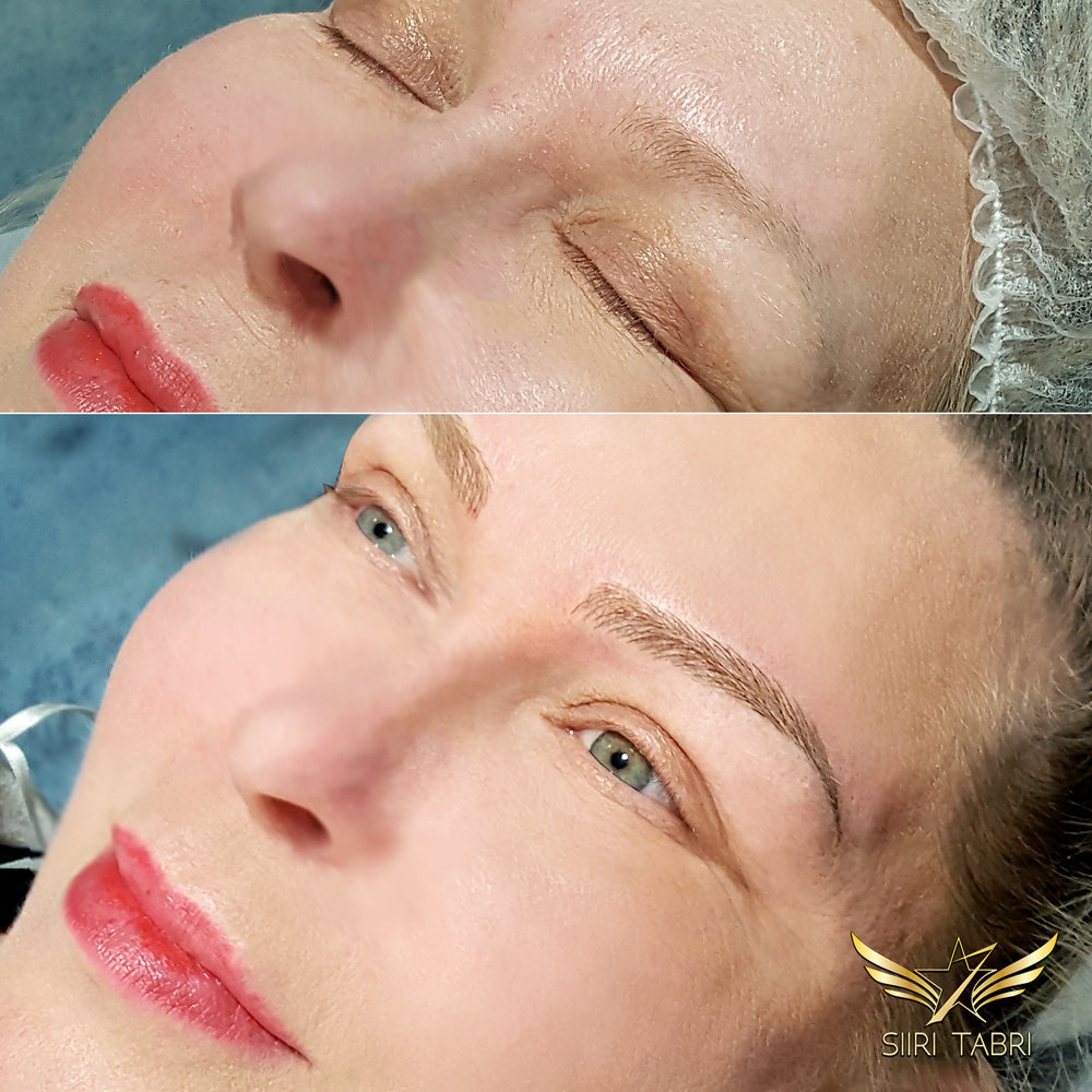 SharpBrows Light microblading - A perfect solution for clients at any age.