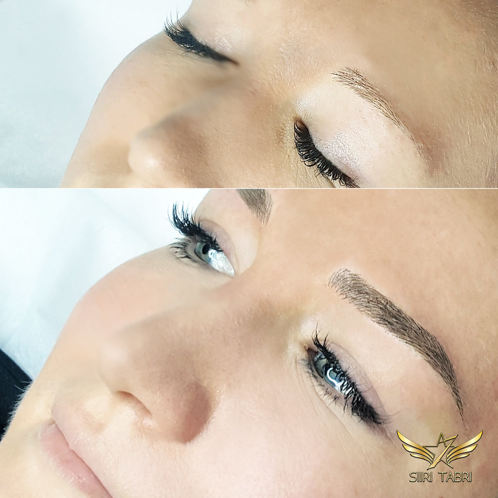 SharpBrows Light microblading. Incredible results with Light microblading technique.