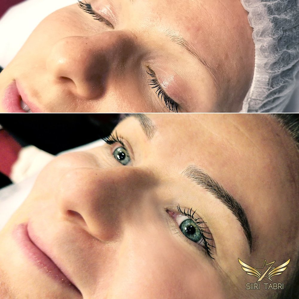 SharpBrows Light microblading - Quite a change. Almost impossible to believe.