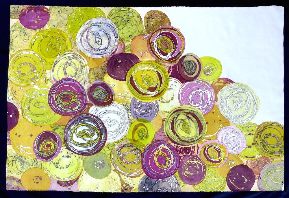 "Chroma Collection  Sue Copeland Jones  44"" x 29"""