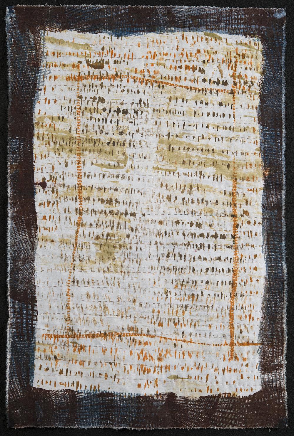 "Manuscript 2  Judy Langille  15"" x 26"""