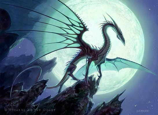 moonveil dragon the art of todd lockwood