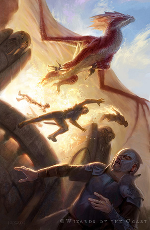 DRAGONS — The Art of Todd Lockwood
