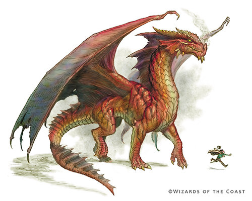 Dnd Copper Dragon: The Art Of Todd Lockwood