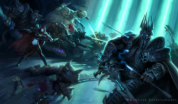 the lich king the art of todd lockwood