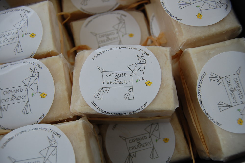 Goats Milk Soap at the Champlain Islands Farmers Market