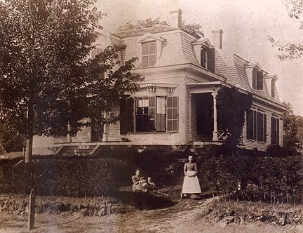 Arnold Mansion circa 1893.