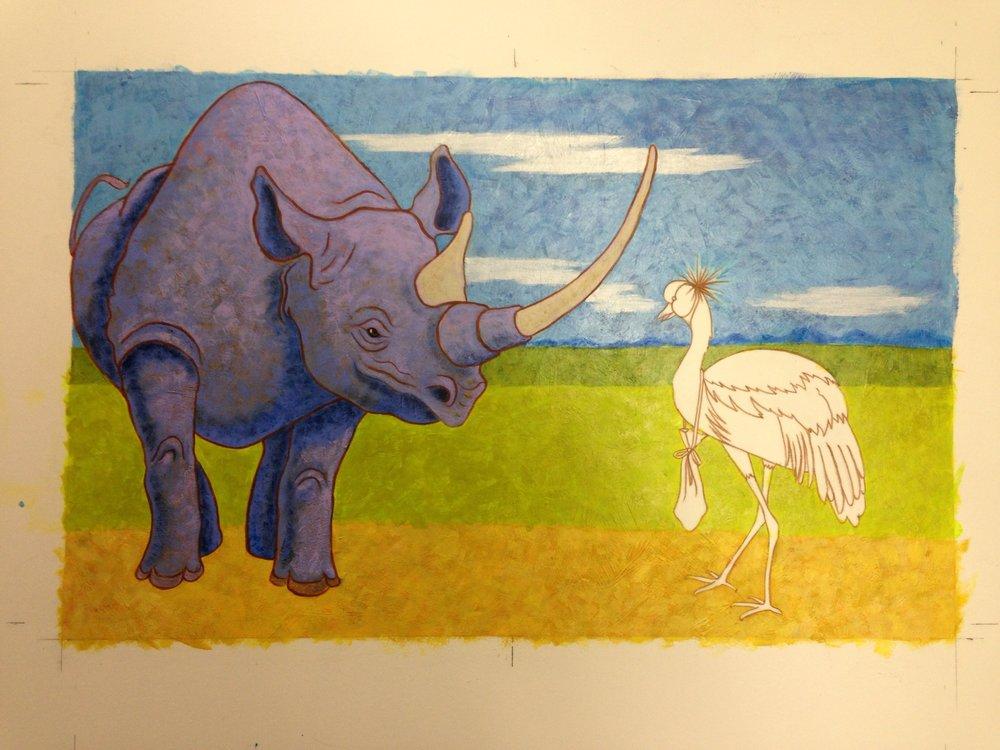 Rhinoceros #2
