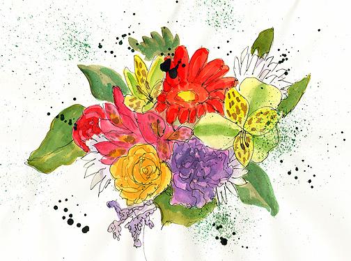 Flowers 2 © Denise Ortakales