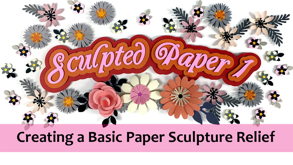 Sculpted Paper 1: Creating a Basic Paper Sculpture Relief, a e-course taught by Denise Ortakales on Skillshare.