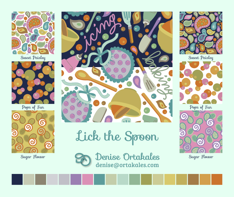 Lick the Spoon Fabric Collection
