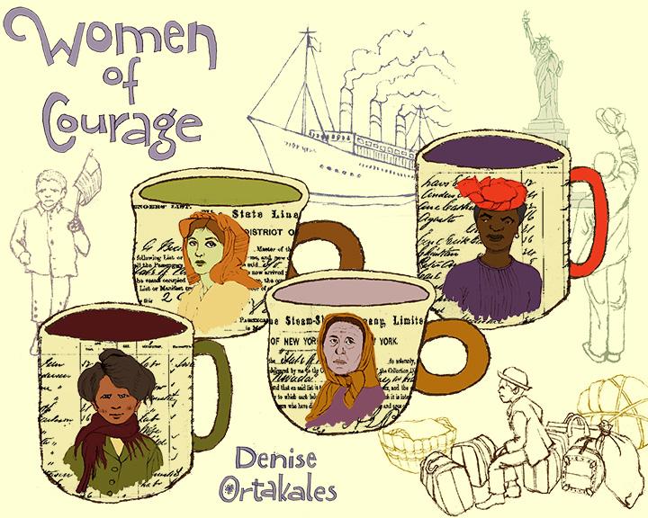 Women of Courage Coffee Mugs © Denise Ortakales
