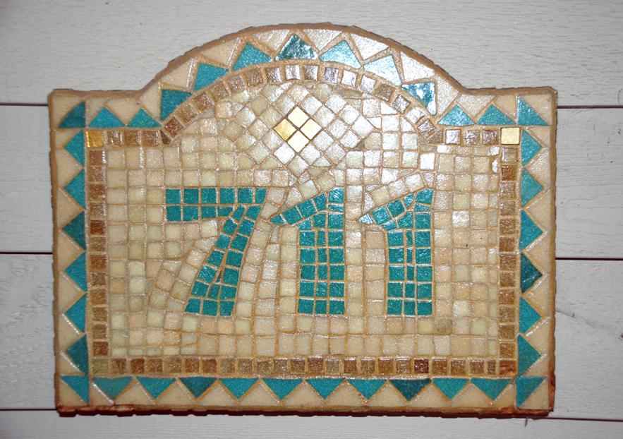House Address Mosaic © Denise Ortakales