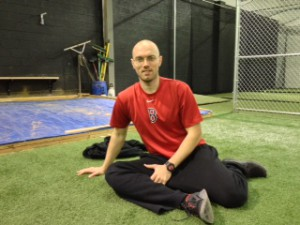 Baseball Stretch Hip Internal Rotation