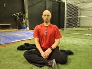 Baseball Stretch Hip Internal Rotation