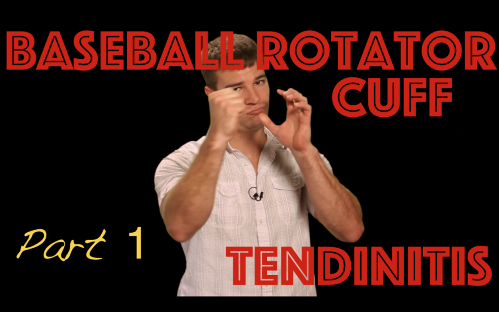 Baseball Rotator Cuff Tendonitis