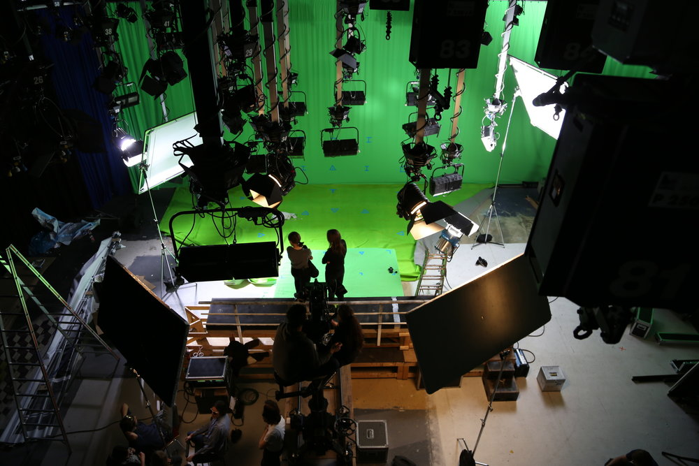 Stock image of an impressive green screen studio. Doesn't look like these guys are going to screw it up!