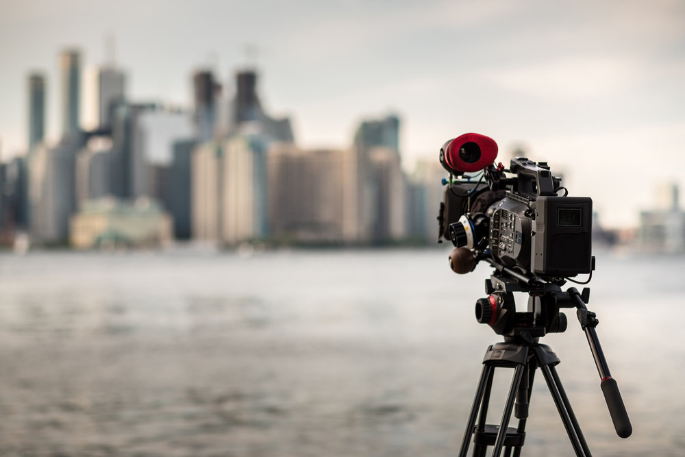 Here's a stock photo of a 4K camera someone left by a river. Hopefully it doesn't get crazy windy or this rig is going in the drink!  Photo by Sisoje/iStock / Getty Images