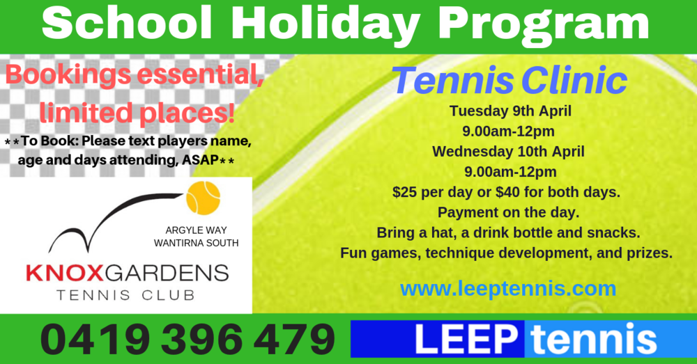 School Holiday Program TERM 1, 2019.png
