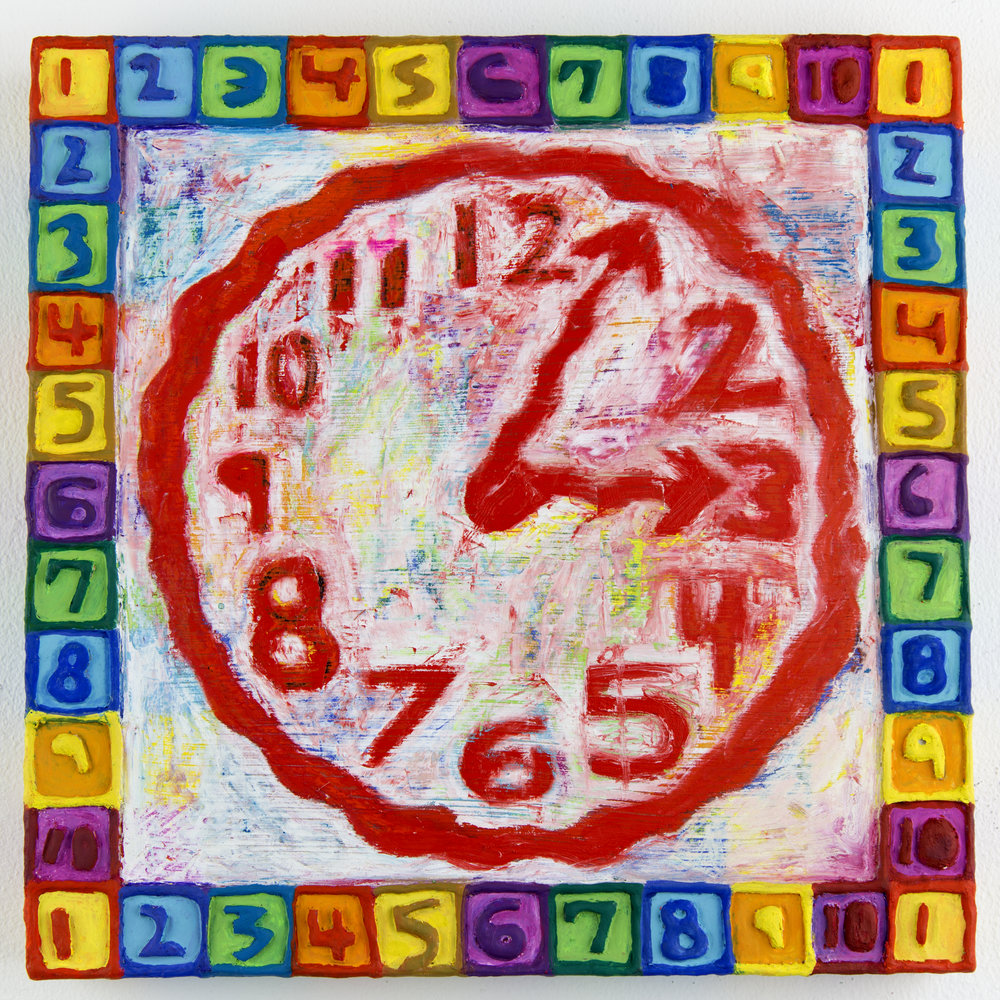 Clock (Rainbow)