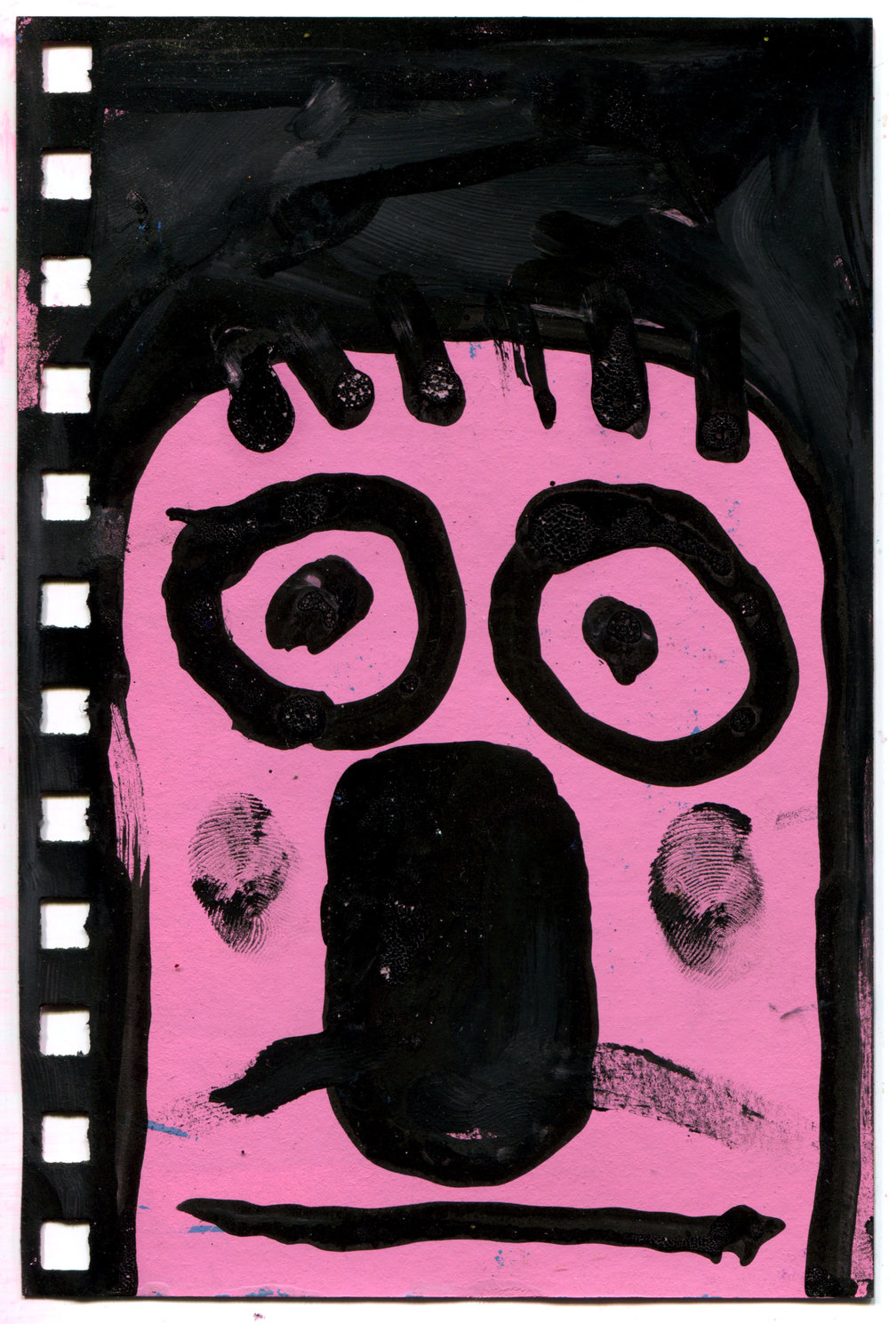 Pink Thumb Face
