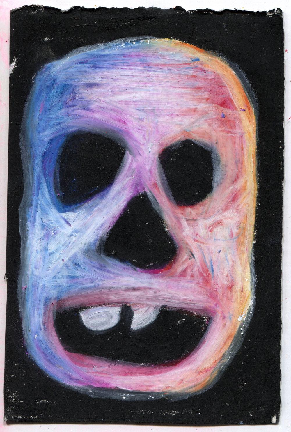 Skull (Red/Blue)