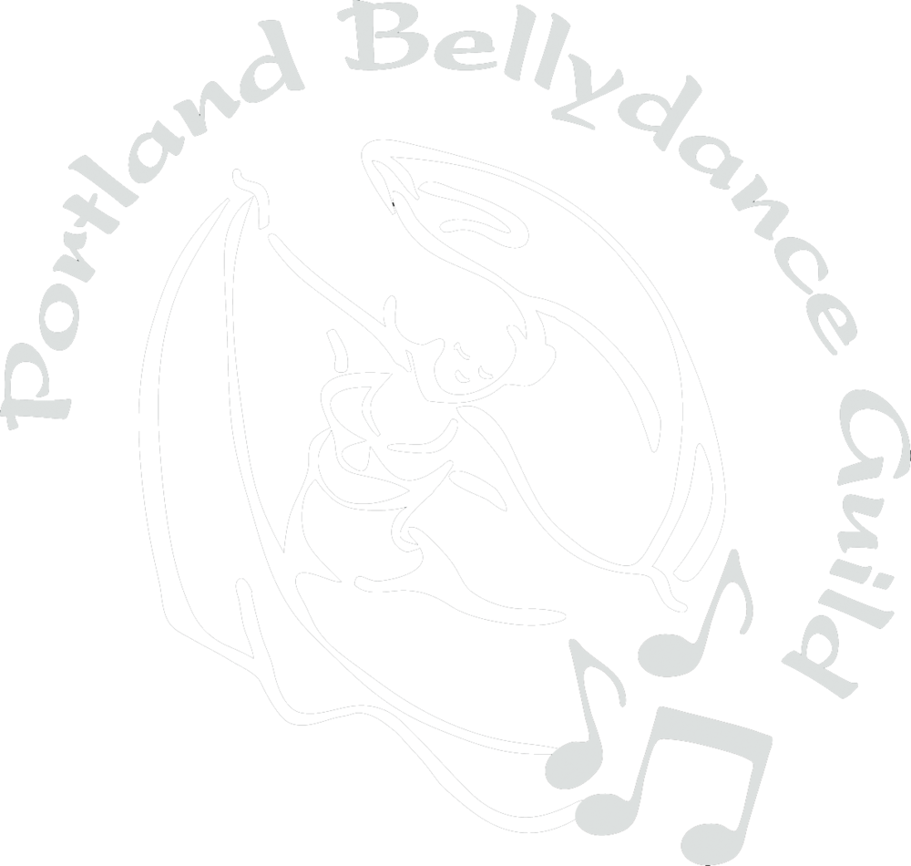 Elise is a proud member of the Portland Bellydance Guild. Visit their site for more info on the local dance community! -