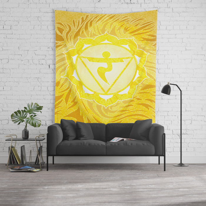 Shine—Solar Plexus Chakra Tapestry