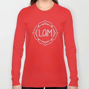 Chakra Mantra Long-sleeve T-Shirts