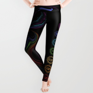 Chakra Power Leggings