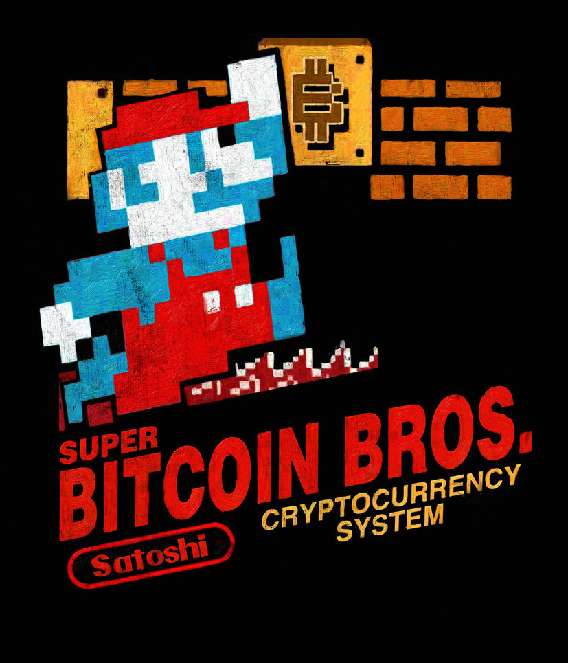 Super Bitcoin Bros by  mrddixon