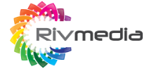 Rivmedia web design logo