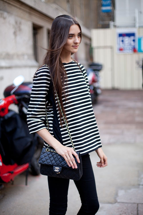 *Recreate this look with the  Lucy top  and  black ponti leggings