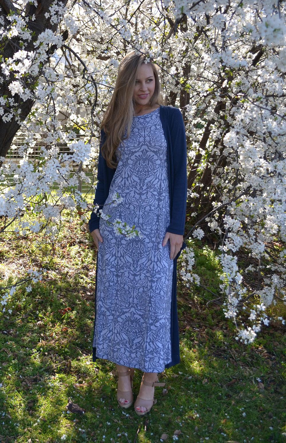 Abbey Floral Maxi Dress