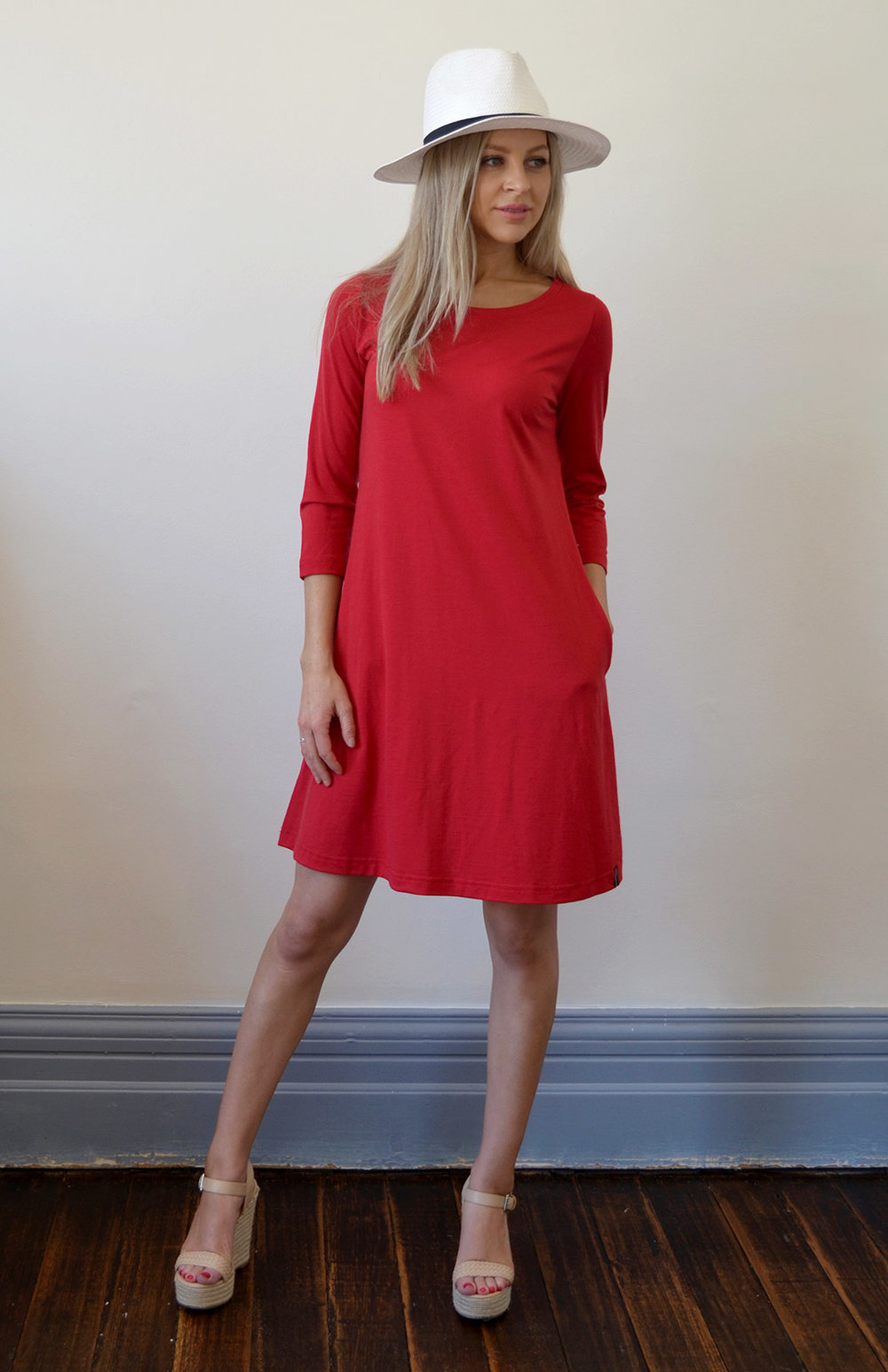 The Red Ellie Dress- Full colour range available  here